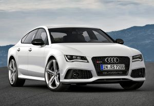 2013 Audi RS7 Sportback; top car design rating and specifications